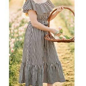 Grace Elements Gingham Dress